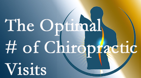 It's up to you and your pain as to how often you see the New Roads chiropractor.