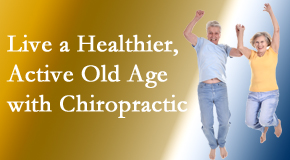 New Roads Chiropractic Center invites older patients to incorporate chiropractic into their healthcare plan for pain relief and life's fun.