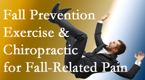 New Roads Chiropractic Center shares new research on fall prevention strategies and protocols for fall-related pain relief.
