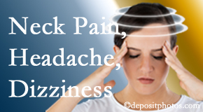 New Roads Chiropractic Center helps decrease neck pain and dizziness and related neck muscle issues.