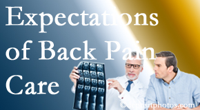 The pain relief expectations of New Roads back pain patients influence their satisfaction with chiropractic care. What's realistic?