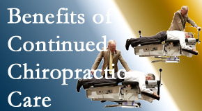 New Roads Chiropractic Center presents continued chiropractic care (aka maintenance care) as it is research-documented to be effective.