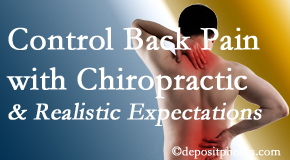 New Roads Chiropractic Center helps patients establish realistic goals and find some control of their back pain and neck pain so it doesn't necessarily control them.