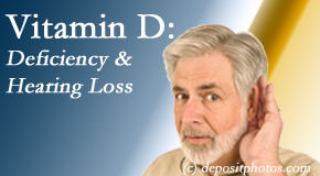 New Roads Chiropractic Center presents recent research about low vitamin D levels and hearing loss.