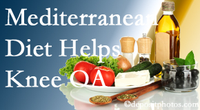 New Roads Chiropractic Center shares recent research about how good a Mediterranean Diet is for knee osteoarthritis as well as quality of life improvement.