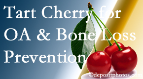New Roads Chiropractic Center shares that tart cherries may improve bone health and prevent osteoarthritis.