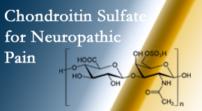 New Roads Chiropractic Center sees chondroitin sulfate to be an effective addition to the relieving care of sciatic nerve related neuropathic pain.