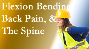 New Roads Chiropractic Center helps workers with their low back pain due to forward bending, lifting and twisting.