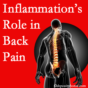 The role of inflammation in New Roads back pain is real. Chiropractic care can manage it.