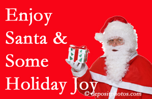 New Roads holiday joy and even fun with Santa are studied as to their potential for preventing divorce and increasing happiness.
