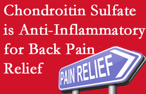 New Roads chiropractic treatment plan at New Roads Chiropractic Center may well include chondroitin sulfate!