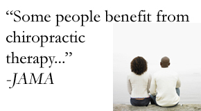 chiropractic quote from JAMA