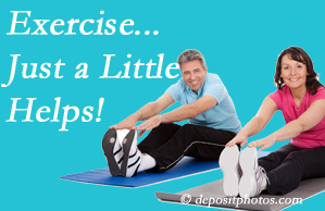 New Roads Chiropractic Center encourages exercise for better physical health as well as reduced cervical and lumbar pain.