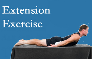 New Roads Chiropractic Center recommends extensor strengthening exercises when back pain patients are ready for them.