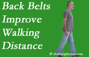 New Roads Chiropractic Center sees benefit in recommending back belts to back pain sufferers.