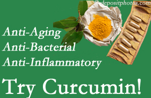 Pain-relieving curcumin may be a good addition to the New Roads chiropractic treatment plan.
