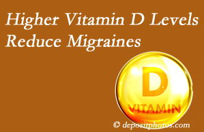 New Roads Chiropractic Center shares a new paper that higher Vitamin D levels may reduce migraine headache incidence.