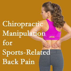 New Roads chiropractic manipulation care for common sports injuries are recommended by members of the American Medical Society for Sports Medicine.