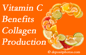 New Roads chiropractic offers tips on nutrition like vitamin C for boosting collagen production that decreases in musculoskeletal conditions.