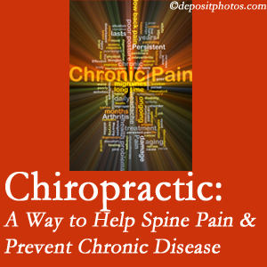 New Roads Chiropractic Center helps ease musculoskeletal pain which helps prevent chronic disease.